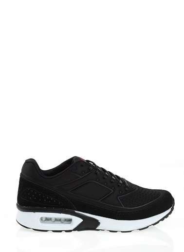 Hammer Jack Bağcıklı Spor Ayakkabı Siyah